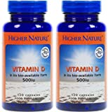 (2 Pack) - Higher Nature - Vitamin D | 120