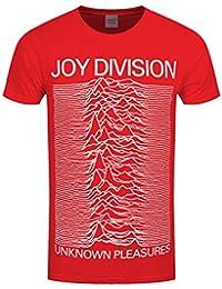 Joy Division Unknown Pleasures T-shirt rouge