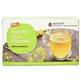 Tegut Fenchel-Anis-Kümmel-Tee (1 x 40 g)