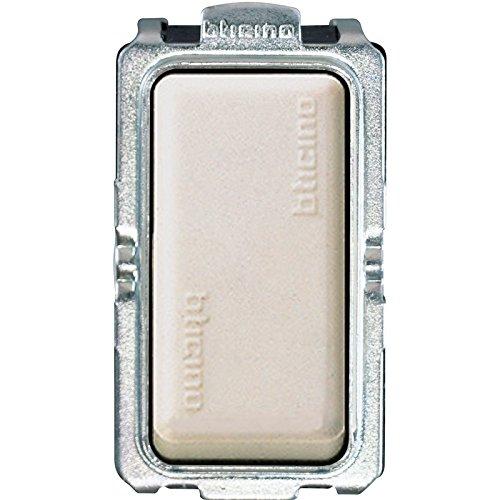 bticino 5012 1P Marfil, Acero Inoxidable Interruptor eléctrico - Accesorio Cuchillo eléctrico...