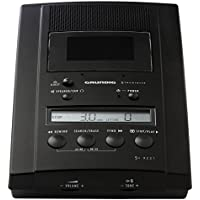 Grundig ST 3221 Cassette Black dictaphone - dictaphones (LCD, Cassette) - Confronta prezzi