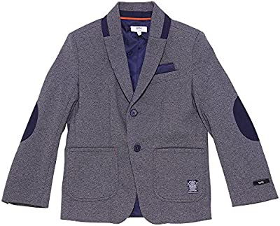 Boss heather grey milano jersey suit jacket