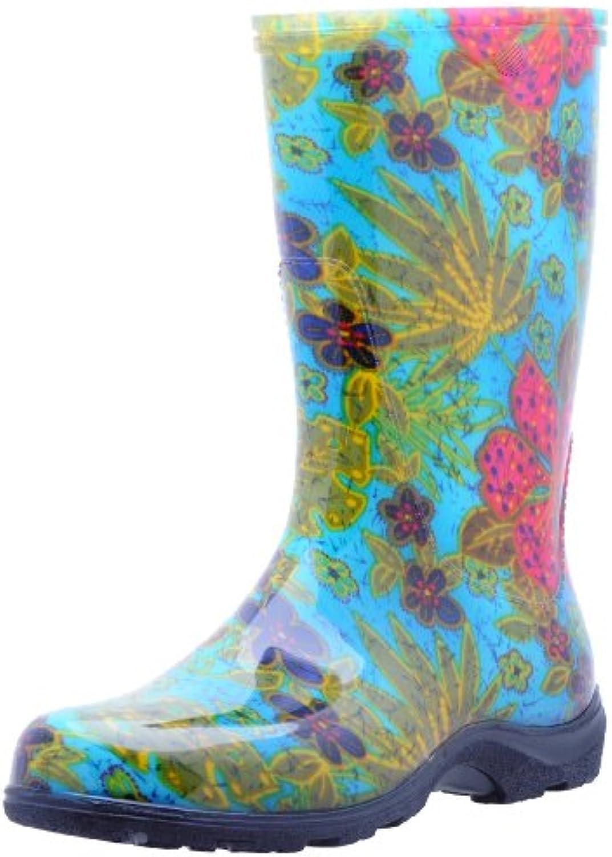 Sloggers Wouomo Rain and Garden avvio with  All-Day-Comfort  Insole, Midsummer blu Print - Wo's Dimensione 8 - Style... | Prestazione eccellente  | Scolaro/Ragazze Scarpa