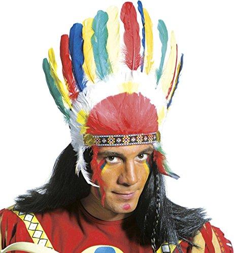 Party Indien Ideen Kostüm - Widmann 3081L-Indischen Kopfbedeckung, in Einheitsgröße