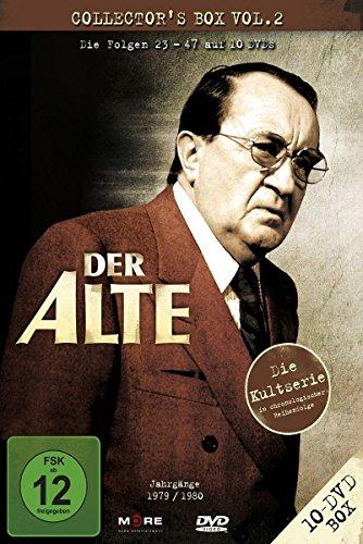 Der Alte - Collector's Box Vol. 2, Folge 23-47 (10 DVDs)