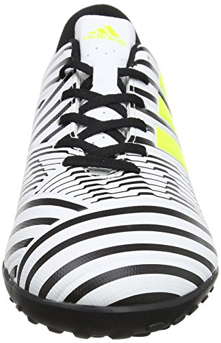adidas Nemeziz 17.4 TF, Chaussures de Football Homme Jaune (Footwear White/solar Yellow/core Black)