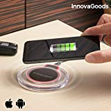 InnovaGoods IG813239 - Cargador inalámbrico Qi para Smartphones