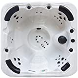 Cheapest Blue Whale Spa Crystal Cove 13 AMP Hot Tub 6 Person Outdoor Hottubs on