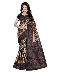 Trendz Style Taffeta Silk Floral Print Saree(TZ_1025_C)