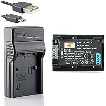DSTE NP-FV100 Li-ion Batería Traje y cargador micro USB para Sony DCR-SR15 SR21 SR68 SR88 SX15 SX21 SX44 SX45 SX63 SX65 SX83 SX85