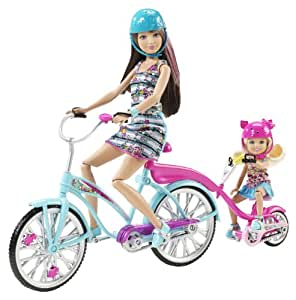 Barbie Sisters Skipper and Chelsea Bike for Two