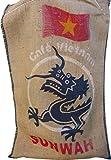 SABOREATE Y CAFE THE FLAVOUR SHOP Vietnam Caffè e iuta Hessian bag 70x100cm, divani in tessuto tappezzeria, sedie, cuscini e guanciali