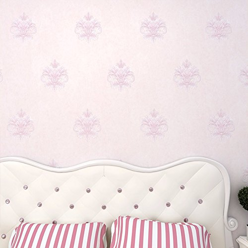 bizhi-contemporain-3d-wallpaper-art-deco-revetement-mural-sticker-papierrose-et-violet