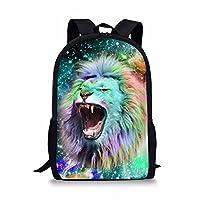 chaqlin Fashion Galaxy Animal Backpack School Bags for Boys Girls Book Bag Daypack