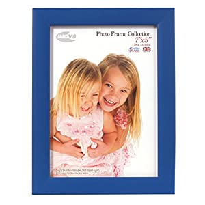 Inov8 British Made Traditional Picture/Photo Frame, Royal Blue, 7x5 Inch