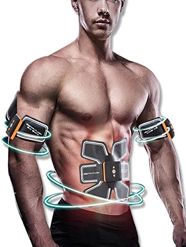 [neue Version 2017] Bauch Muskelaufbau Gürtel, Taille Trimmer Gürtel, ABS Toner Body Muscle Trainer, ABS fit Training, Unisex Fitness Training Gear, Home Fitness Training Gear Unterstützung