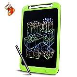 Richgv Bunte 12 Zoll LCD Writing Tablet mit Anti-Clearance Funktion und Stift, Digital Ewriter Grafiktabletts Mini Schreibtafel Papierlos Notepad Doodle Board Tolles (Grün)