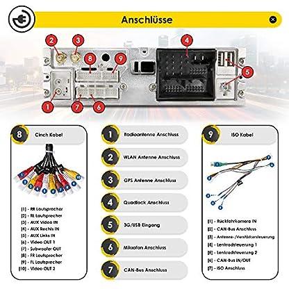 NEOTONE-WRX-906G7-Autoradio-fr-VW-Golf-7-ab-2012-Can-Bus-Navigation-mit-Europakarten-DAB-4GB-RAM-32GB-ROM-Android-9-Pie-Octa-Core-4K-Ultra-HD-WLAN-Bluetooth-RDS
