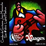 John Pearse 2810LM Jeu de cordes pour Guitare Nuage Medium