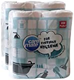 #4: Big Bazaar Combo - Caremate Toilet Tissue Roll - 200 Pulls x 4 Rolls (2 Ply), 800N (Buy 1 Get 1, 2 Pieces) Promo Pack