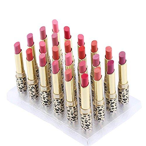 Lips Glossy Stain (Anself 12St/ satz Lippenstift Set Glossy Die Balsam Lip Rouge Einfach Zu Tragen Lippenstift 12 Farben (24st))