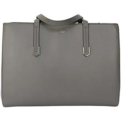HUGO Women's Shoulder Bag hellgrau Norah, 0