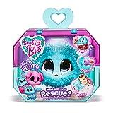 Scruff-A-Luvs 35533 Überraschungs Kuscheltier mit rosa Fell, Plüschtier zum Adoptieren, geheimes Schmusetier, erst durch waschen und liebhaben Wird offenbart, ob Katze, Hund oder Hase, blau