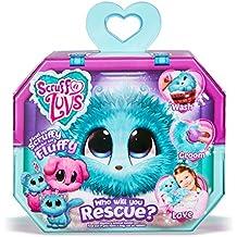 Worlds Apart Scruff A Luvs Rescue Pet Juguete Suave - Conejo, Gato o Perro, Aqua