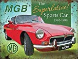 MGB Superlative Sportwagen MG klassisch Road Auto mg-Parent - 20 x 15 cm
