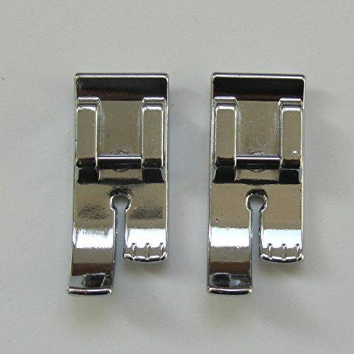 KUNPENG - 2 piezas SNAP-ON PIE DE 1/4 PULG. # CY-7304=006916008 para SINGER 1100, 3800, 6500, 7300 SERIES