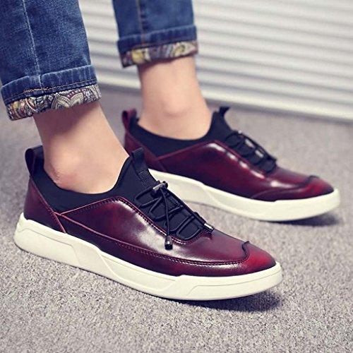 ZXCV Scarpe all'aperto Scarpe da skate uomo scarpe casual scarpe da uomo Vino rosso