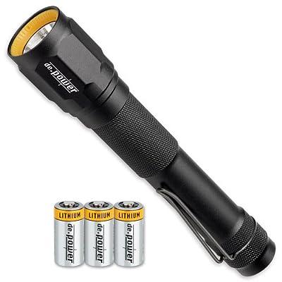 de.power LED Taschenlampe 3x CR123A, 350 Lumen (ANSI) DP-016CR-C von de.power bei Lampenhans.de