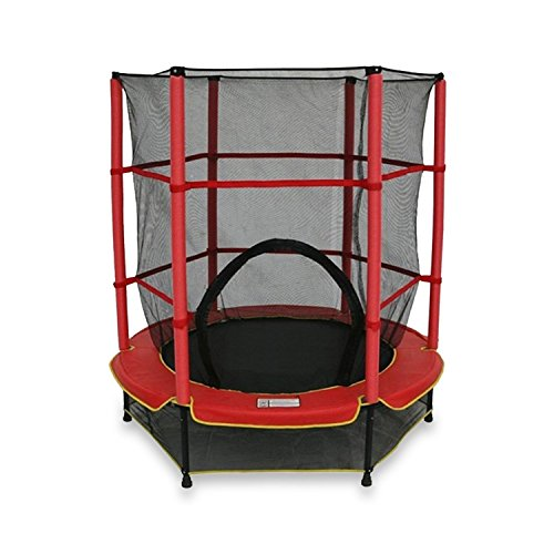 We R Sports Trampolin mit Netz MFTL-Red-101 im Test
