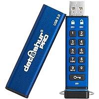 iStorage IS-FL-DA3-256-8 8GB datAshur PRO 256-bit USB 3.0 USB-Stick mit Hardwareverschlüsselung