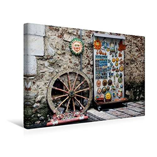 CALVENDO Premium Tela in Tessuto 45 cm x 30 cm Orizzontale, Popolare Souvenirs - Immagine da Parete su Telaio a Cunei, su Vera Tela, Stampa su Tela Natur Natura