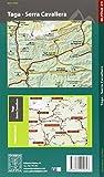 Image de Taga, Sierra Cavallera mapa excursionista. Escala 1:25.000. Alpina Editorial.