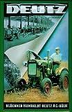Blechschild Deutz Schlepper Trecker Traktor Reklame Schild Nostalgieschild