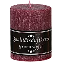 Stumpen rustik 70 x 90 mm mit Duft Granatapfel preisvergleich bei billige-tabletten.eu