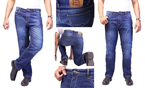 hb motorradhose dupont kevlar jeans herren straight fit. Black Bedroom Furniture Sets. Home Design Ideas