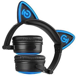 MindKoo Auriculares Inalámbricos de Gato