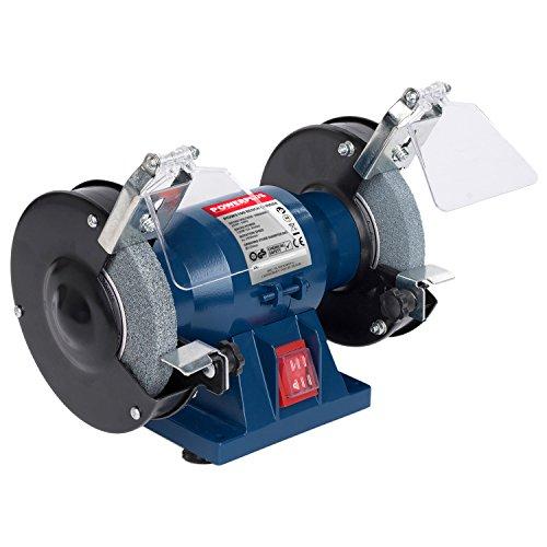 elektrischer schleifstein Powerplus Doppelschleifmaschine 120W 125mm