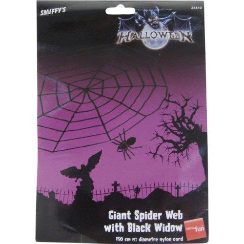 Smiffys Halloween Party Dekoration Spinne Riesen Spinnennetz Haunted House