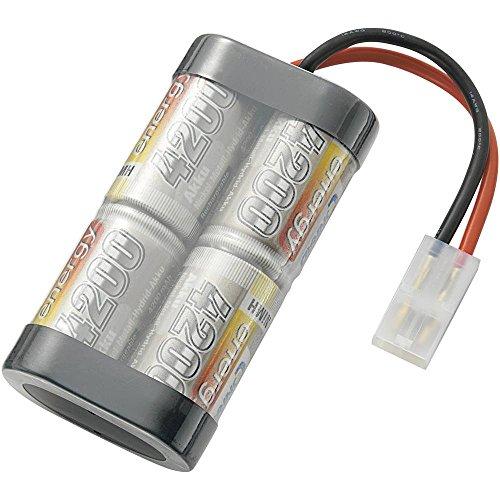 Conrad energy Modellbau-Akkupack (NiMh) 4.8 V 4200 mAh Zellen-Zahl: 4 Stick Tamiya-Stecker Nimh-stick