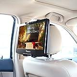 NAVISKAUTO 10-12,5 Zoll Auto KFZ Kopfstützenhalterung Kopfstütze Halterung Gehäuse für Tragbarer DVD Player Spieler Kopfstützenmonitor Monitor HM004