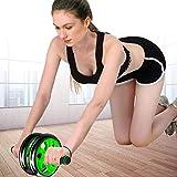 H.aetn Ab Roller Wheel Abdominal- Übungsroller/Body Fitness Krafttrainingsgerät AB Wheel...