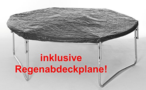 trampolin 305 cm mit klappbarem sicherheitsnetz. Black Bedroom Furniture Sets. Home Design Ideas