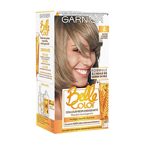 Garnier - Belle Color - Coloration permanente Blond - 04 Blond cendré naturel