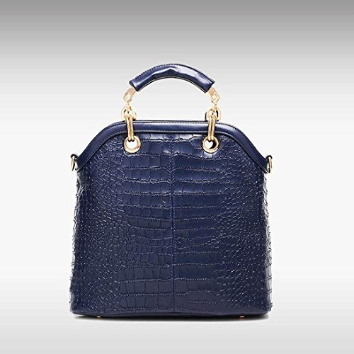 Borsetta Peluche, Moda Donna Borsa Borsa In Pelle Messenger Bag Borsa Tote Borsa by Kangrunmy Blu