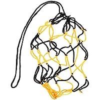 Aofocy Bolsa de Pelota Simple Bolsa de Pelota de fútbol/Voleibol / Baloncesto Negro y Amarillo