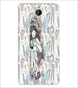 PrintDhaba SweetGirl D-5020 Back Case Cover for LETV (LE ECO) LE 1 PRO (Multi-Coloured)